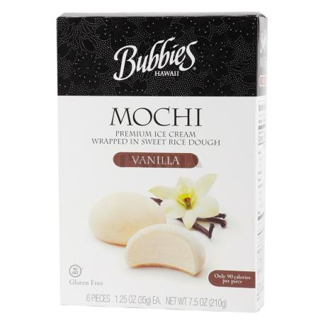 Պաղպաղակ «Bubbies Mochi Vannilla» 210գ