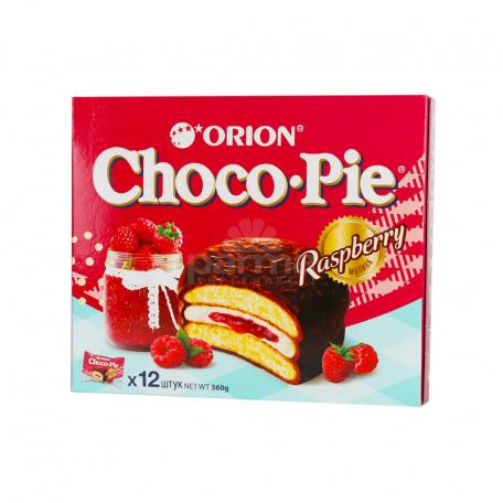 Թխվածքաբլիթ «Choco-Pie» ազնվամորի 360գ