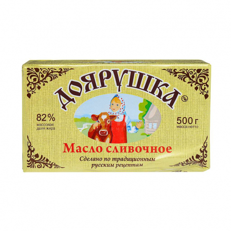 Կարագ «Доярушка» 82% 180գ