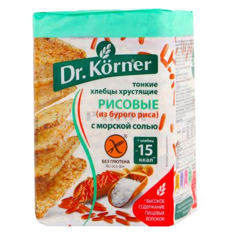 Հացիկ «Dr. Korner» բրինձ 100գ