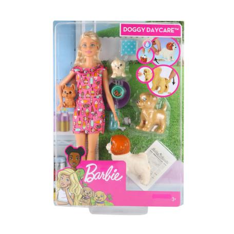 Խաղալիք «Barbie» Շնիկների պարտեզ, հավաքածու