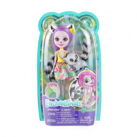 Խաղալիք «Enchantimals» Լեմուր Լարիսա տիկնիկ
