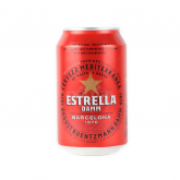 Գարեջուր «Estrella Damm» 330մլ