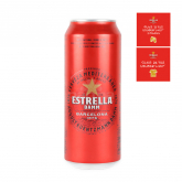 Գարեջուր «Estrella Damm» 500մլ