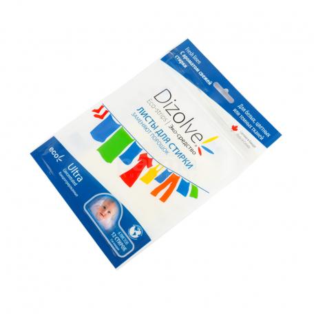 Լվացքի թերթիկներ «Dizolve Fresh Linen» մանկական էկո 6 հատ