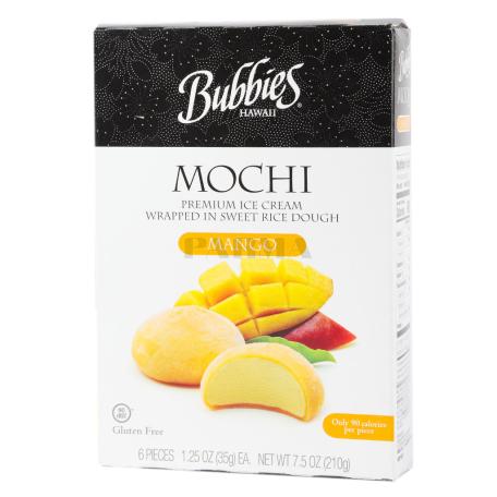 Պաղպաղակ «Bubbies Mochi Mango» 210գ