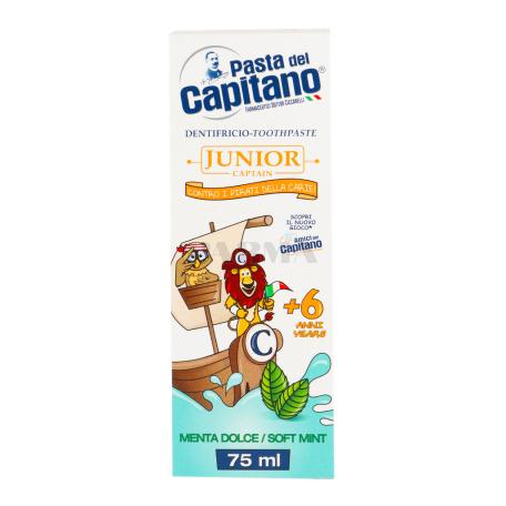 Ատամի մածուկ մանկական «Pasta del Capitano» անանուխ 75մլ