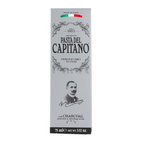 Ատամի մածուկ «Pasta del Capitano» բուսական ածուխով 75մլ