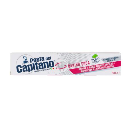 Ատամի մածուկ «Pasta del Capitano» կերակրի սոդա 75մլ