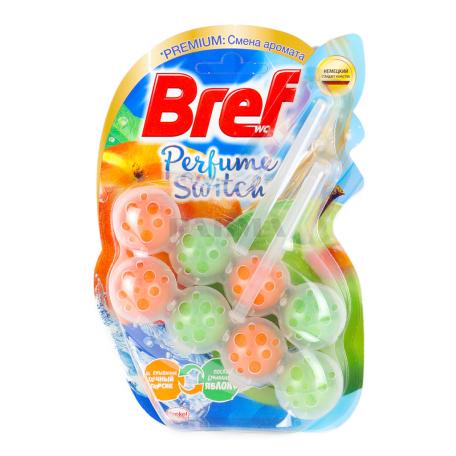 Հաբ զուգարանակոնքի «Bref» խնձոր, դեղձ 2x50գ