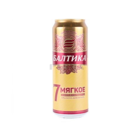 Գարեջուր «Балтика Мягкое №7» 450մլ