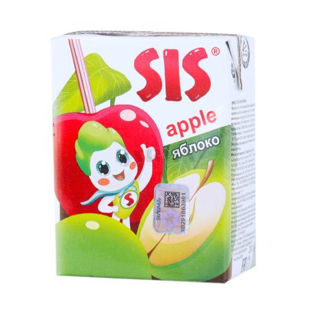 Հյութ բնական «Սիս» խնձոր 200մլ