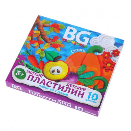 Պլաստիլին «BG» 10 գույն