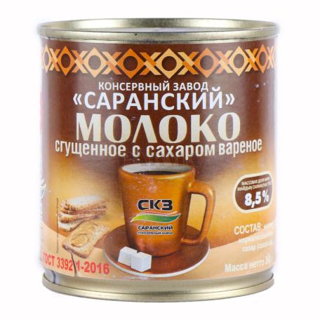 Խտացրած կաթ «СКЗ» եփած, շաքարավազով 8.5% 380գ