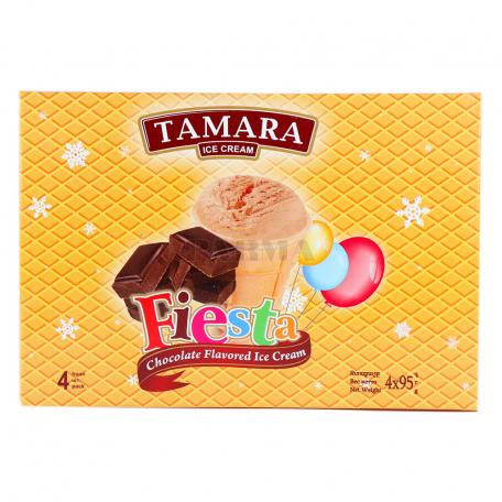 Պաղպաղակ «Թամարա Fiesta» շոկոլադ 4x95գ