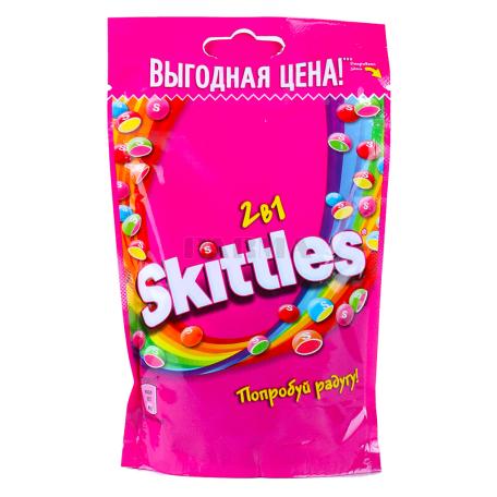 Դրաժե «Skittles 2/1» մրգային 100գ
