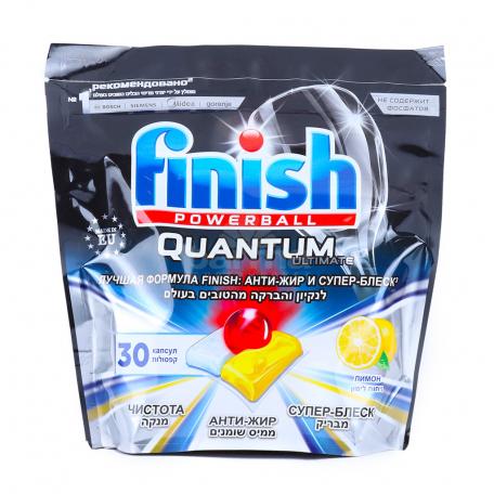 Հաբ սպասքի մեքենայի «Finish Powerball Quantum Ultimate» կիտրոն 375գ