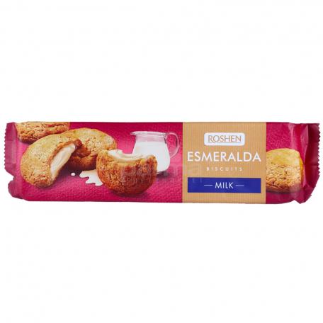 Թխվածքաբլիթ «Roshen Esmeralda» կաթնային 170գ