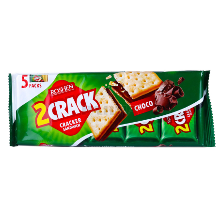 Կրեկեր «Roshen Crack» շոկոլադե 235գ