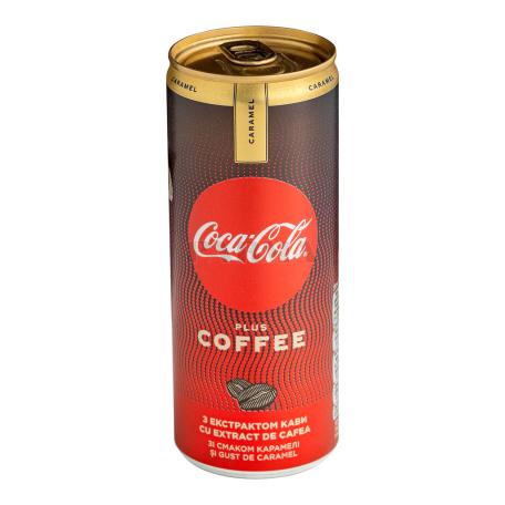 Զովացուցիչ ըմպելիք «Coca-Cola Plus Coffee» կարամել 250մլ