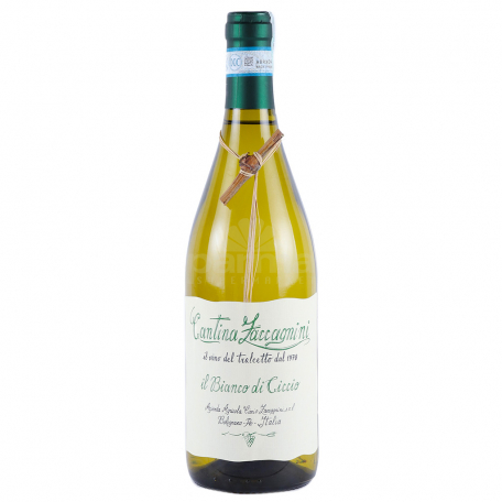 Գինի «Cantina Zaccagnini Tralcetto Bianco di Ciccio» սպիտակ 750մլ