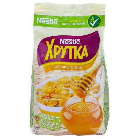 Փաթիլներ մեղրով «Nestle Хрутка» 300գ
