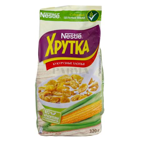 Փաթիլներ եգիպտացորենի «Nestle Хрутка» 320գ