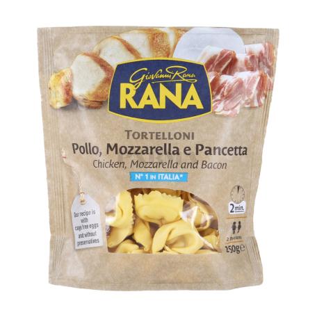 Տորտելինի «Giovanni Rana» հավով, մոցարելլայով, բեկոնով 250գ