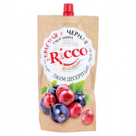 Ջեմ «Mr. Ricco» կարմիր, սև հաղարջ 300գ