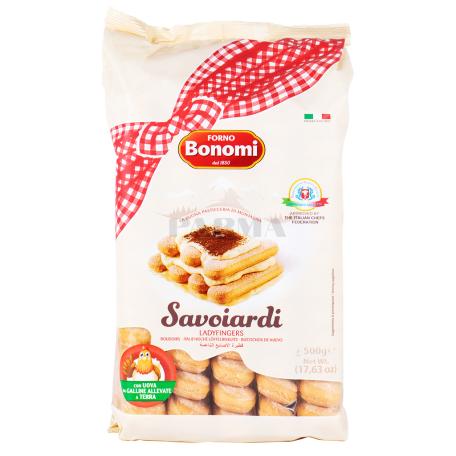 Թխվածքաբլիթ «Bonomi Savoiardi» 500գ