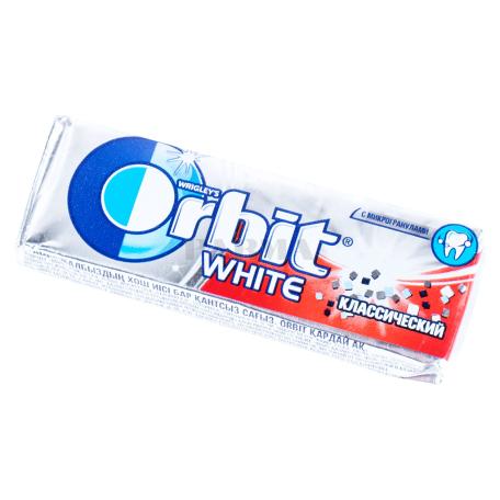 Մաստակ «Orbit White» դասական 13․6գ
