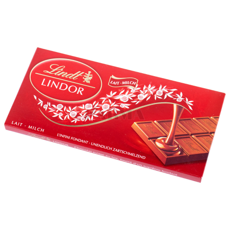 Սալիկ «Lindt Lindor» կաթնային 100գ