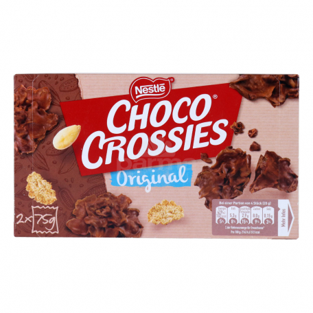 Փաթիլներ «Nestle Choco Crossies» դասական 150գ