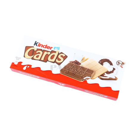 Թխվածքաբլիթ «Kinder Cards» 128գ