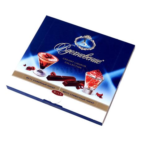Շոկոլադե կոնֆետներ «Вдохновение» սրճային լիկյոր 180գ