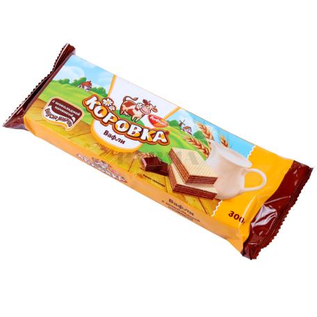 Վաֆլի «Коровка» շոկոլադե 300գ