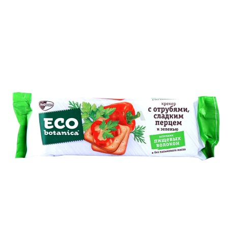 Կրեկեր «РотФронт Eco Botanica» թեփով, քաղցր պղպեղով, կանաչիով 175գ