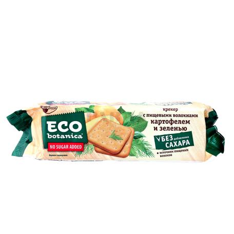 Կրեկեր «РотФронт Eco Botanica» կարտոֆիլով, կանաչեղենով, սննդային մանրաթելերով 175գ