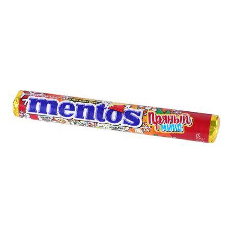 Սառնաշաքար «Mentos» կծու միքս 37գ