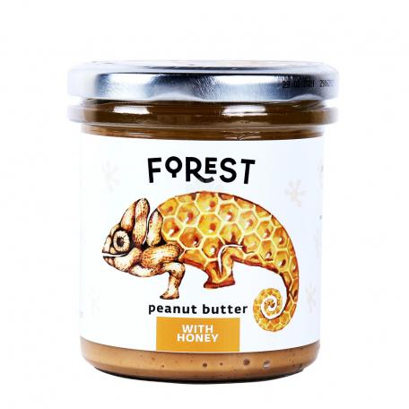 Կարագ-կրեմ գետնանուշի «Forest» մեղր 300գ