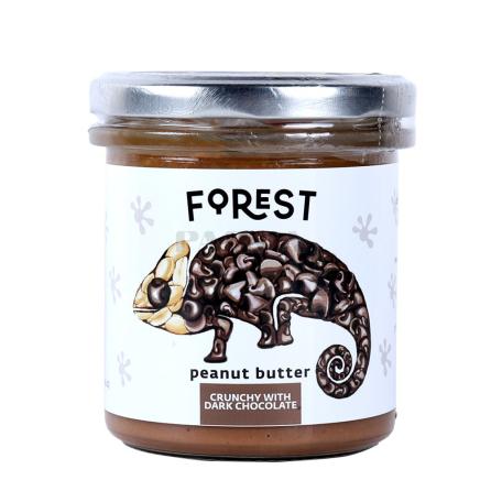 Կարագ-կրեմ գետնանուշի «Forest» սև շոկոլադ, խրթխրթան 300գ