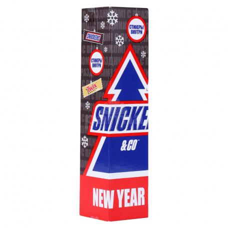 Շոկոլադե կոնֆետներ «Snickers» ամանորյա միքս 96գ