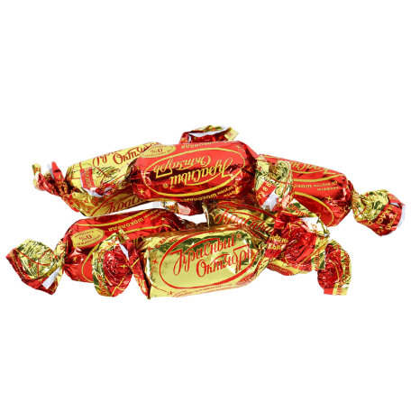 Շոկոլադե կոնֆետներ «Красный октябрь» շոկոլադ, վանիլ կգ