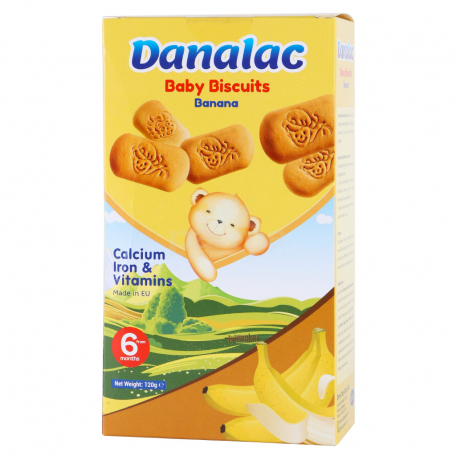 Թխվածքաբլիթ «Danalac» բանանով 120գ