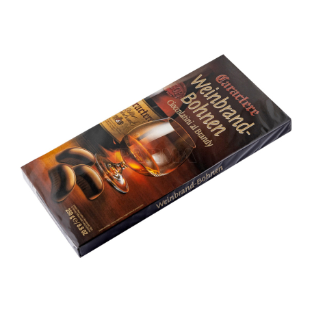Շոկոլադե կոնֆետներ «Caractere Weinbrand- Bohnen» 250գ