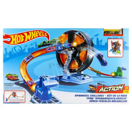 Խաղալիք «Hot Wheels Spinwheel Challenge» հավաքածու