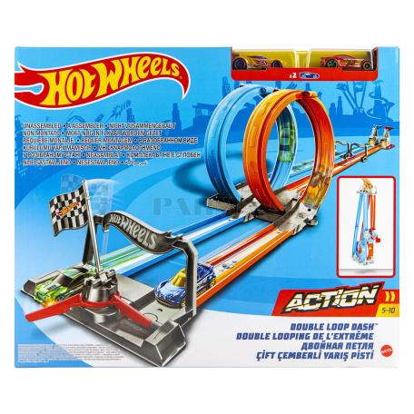 Խաղալիք «Hot Wheels Double Loop Dash» հավաքածու