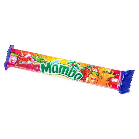Կոնֆետ «Mamba» նարինջ, բալ, մորի, ելակ 79.5գ