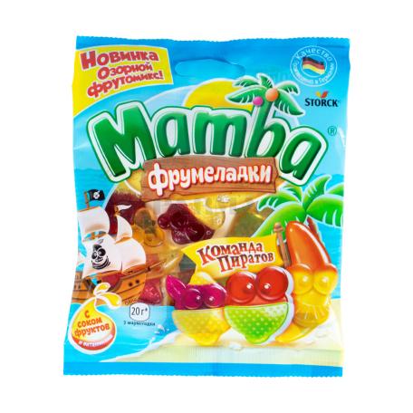 Դոնդողանման կոնֆետներ «Mamba Команда Пиратов» 70գ