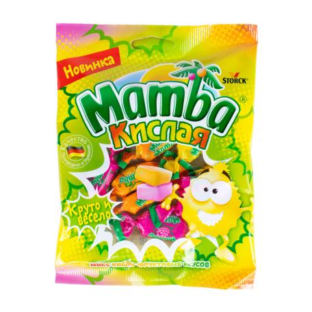 Կոնֆետներ «Mamba» թթու 70գ